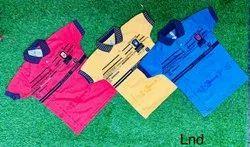 Aroro creation pc sinkar Kids Boys Printed Collar T-Shirt, Size: 3-5 Years