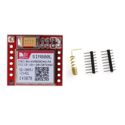 SIM800L GPRS Adapter Board GSM Module MicroSIM Card Minimum Core Board