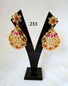 Golden Ladies Earrings