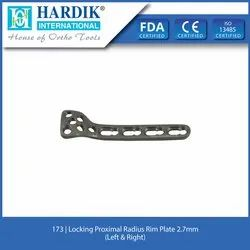 Locking Proximal Radius Rim Plate 2.7mm