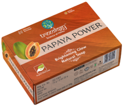 Papaya Power Brightening Glow Natural Soap