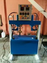 Semi Automatic Double Cylinder Hydraulic Machine