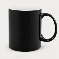 Black Printed Corporate Coffee Mugs, For Home