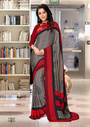 School Uniform Saree