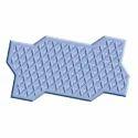 Zigzag Star 80 Blocks Rubber Mould