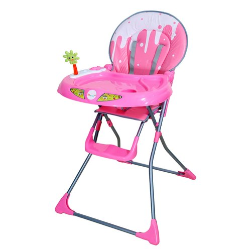 Plastic Hh Harry Honey Portable Baby High Chair Pink Rs 3901