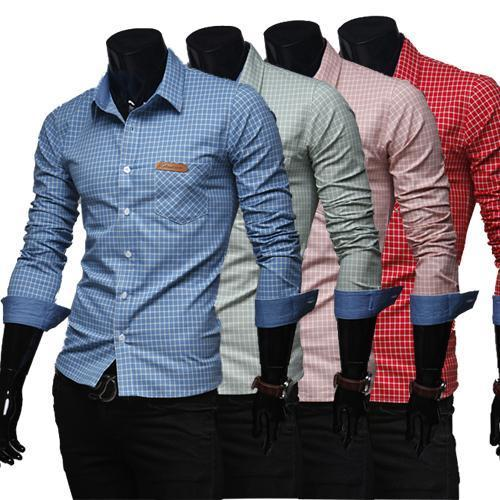 38 And 44 Cotton Men S Checked Shirt Rs 350 Piece Jai Hind