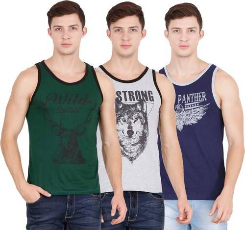 Cotton Printed Fashion Vest