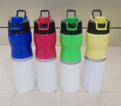 Dual Colour Steel Bottle