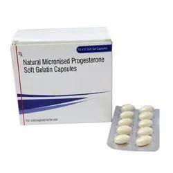 Micronized Progesterone Capsules