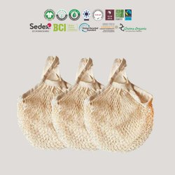 Eco Cotton Mesh Bag