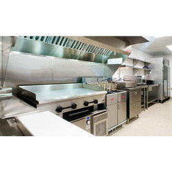 Stainless Steel Commercial Modular Kitchen