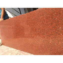 Polished Rajasthan Red Granites, For Countertops, Thickness: 10-12 mm
