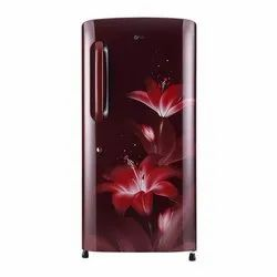 Ruby Glow Direct Cool GL-D221ARGY LG Refrigerator, Single Door, Capacity: 215 L