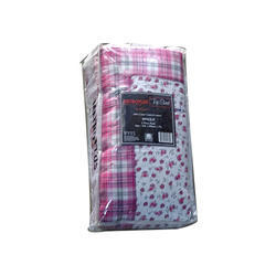 Pink Printed Quilts Metro Plus Dohar