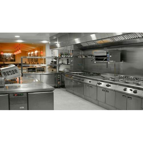 SS Commercial Kitchen, Commercial Modular Kitchen