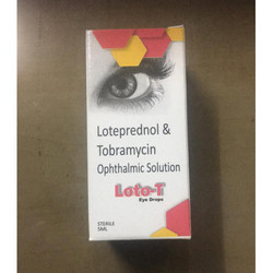 Loteprednol and Tobramycin Eye Drops