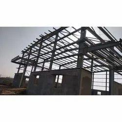 Galvanized Mild Steel Roofing Structure