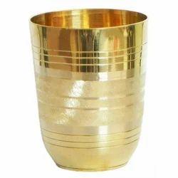 Brass Glass, Shape: Round