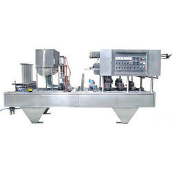 Yogurt Cup Filling and Sealing Machine