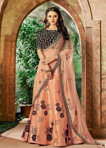 597c78e1d150ec Silk Boutique Party Wear Lehenga Choli, Rs 4285 /piece, Gunj Fashion ...