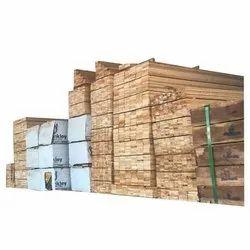 Rectangular Pine Wood Runner