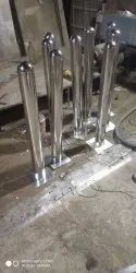 Stainless Steel Satin Polished Bollards