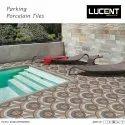 Parking Tile Matt Vitrified Parking Tiles, Thickness: 8 - 10 Mm