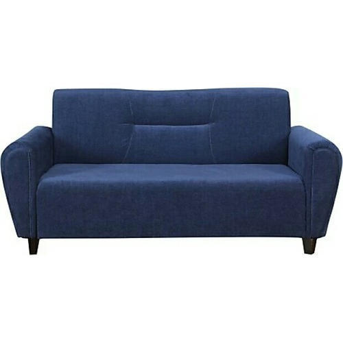 Modern Blue 3 Seater Solid Wood Sofa, for Home