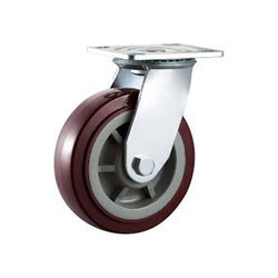 Swivel SS 304 Jack PU Caster Wheel