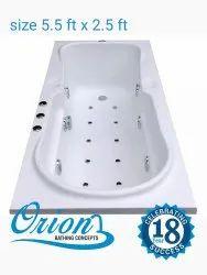 Orion Acrylic Bathroom Tub, OTB 010, Shape: Rectangular