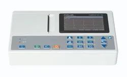 Schiller Cardiovit ECG Machine, Digital, Number Of Channels: 3 Channels