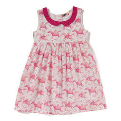 Cotton Casual Wear Baby girl frock