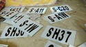 Acrylic Railway Signaling Number Plate, For Railways