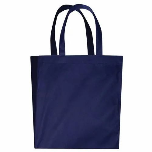 Blue Loop Handle Non Woven Bags