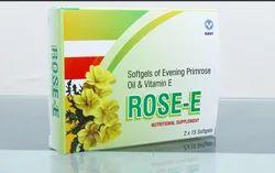 ROSE - E Softgels Of Evening Primrose 500 Mg And Vitamin E