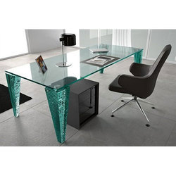 glass office table round glass office table apsara plywood traders manufacturer
