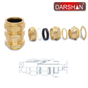 CW Brass Cable Gland