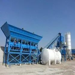 Fully Automatic Electric Engine Stationary Concrete Batching Plant