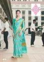 Cotton Silk Uniform Saree