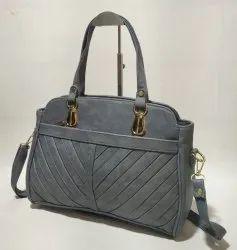 Hand Handled Adjustable Zippery handbag, For Casual Wear, 900 Gm