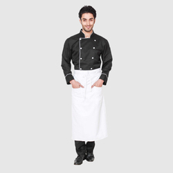 UB-APR-WHI-0017 Chef Aprons