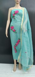 Ladies Designer Regular Wear Cotton Suit Dress Material