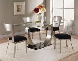 Global International Stainless Steel Chairs