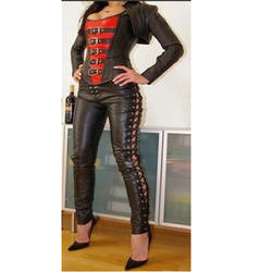 Fancy Leather Catsuit