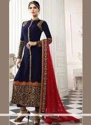 Chanderi Suit