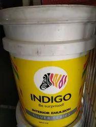 Indigo Interior Emulsion Silver Paint