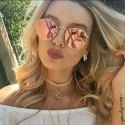 Unisex Round Shape Sunglasses