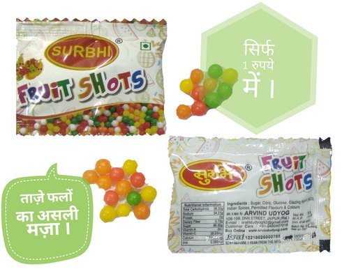 12 Months Multicolor Surbhi Fruit Shot, Packaging Size: 8/10, Packaging Type: Packet