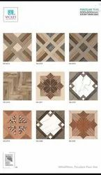 xcera Multicolor Porcelain Floor Tiles, Thickness: 5-10 mm, Size: 60 * 60 In cm